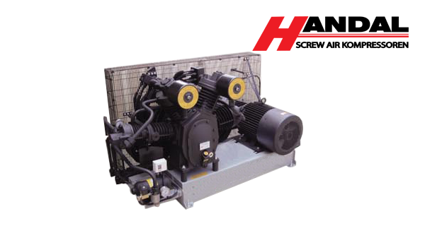 34SH High pressure series(Three stage) Air Discharge : 1.3-6.4m3/min Installed power : 15KW(20HP)-18.5KW x 4...